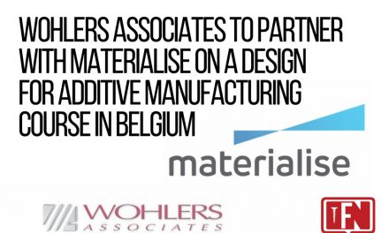 Wohlers Associates to Partner with Materialise on a Design for Additive Manufacturing Course in Belgium