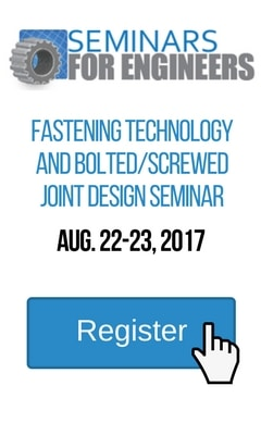 Seminars for Engineers Fasteners