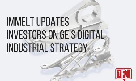 Immelt Updates Investors On GE's Digital Industrial Strategy