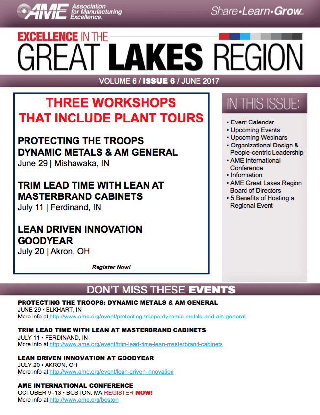 AME Great Lakes Region Newsletter
