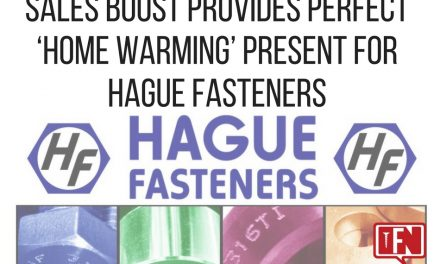 Sales Boost Provides Perfect 'Home Warming' Present for Hague Fasteners