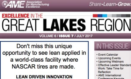 AME's Great Lakes Region Newsletter, July 2017
