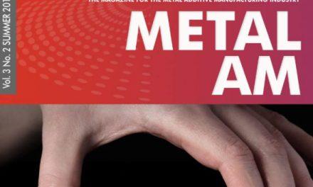Metal Additive Manufacturing, Summer 2017