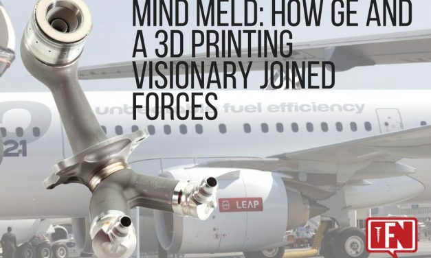 Mind Meld: How GE And A 3D Printing Visionary Joined Forces