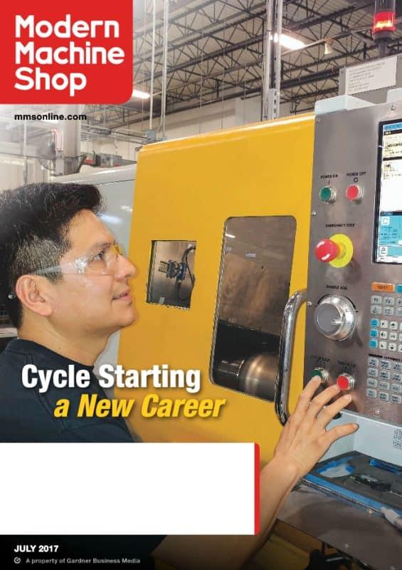 Modern Machine Shop, July 2017