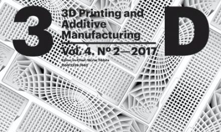 3D Printing and Additive Manufacturing, Vol 4, Issue 2