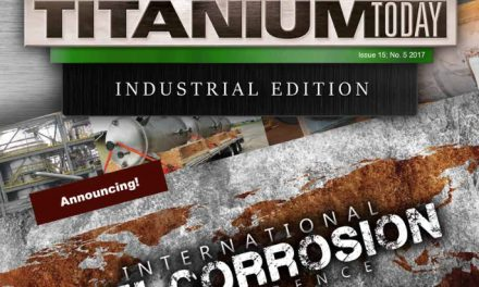 Titanium Today, Issue 15, No. 5, 2017
