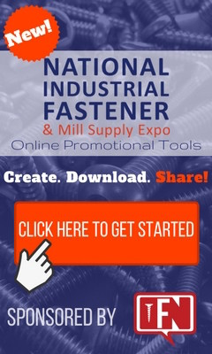 Fastener Show 2017 Promotional Tools