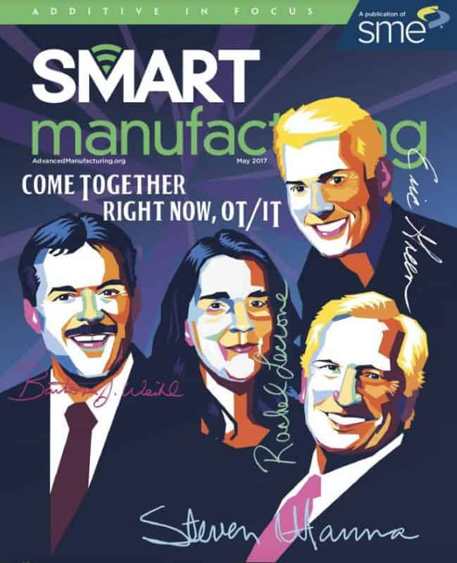 Smart Manufacturing, May 2017