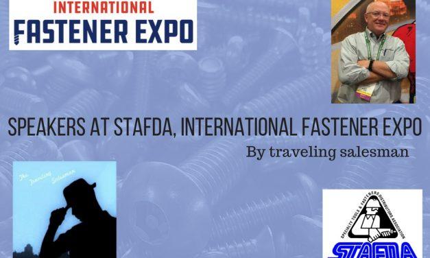 Speakers at STAFDA, International Fastener Expo