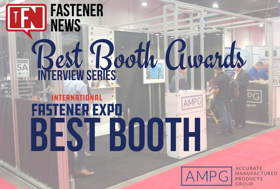 Best Booth Award Winner AMPG Gives the Nuts and Bolts of Their Booth Design