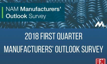 2018 First Quarter Manufacturers' Outlook Survey