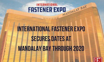 International Fastener Expo Secures Dates Through 2020