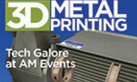 3D Metal Printing, August 2018