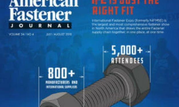 American Fastener Journal, July/August 2018
