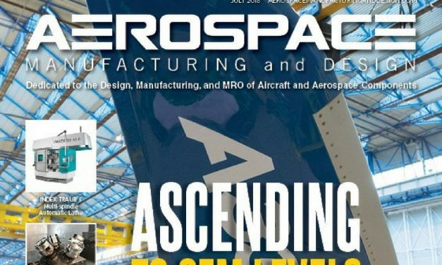 Aerospace Manufacturing and Design, July 2018
