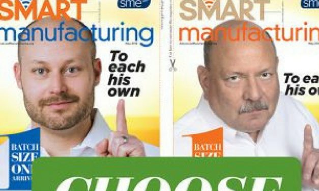 Smart Manufacturing, May 2018
