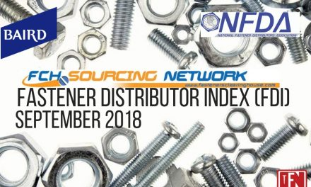 Fastener Distributor Index – September 2018