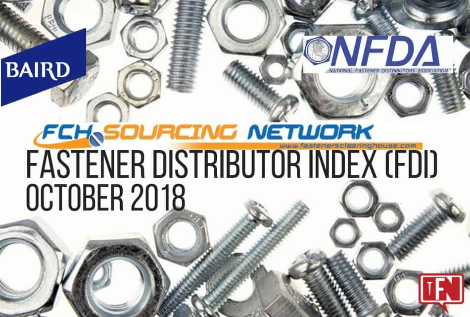 Fastener Distributor Index – October 2018