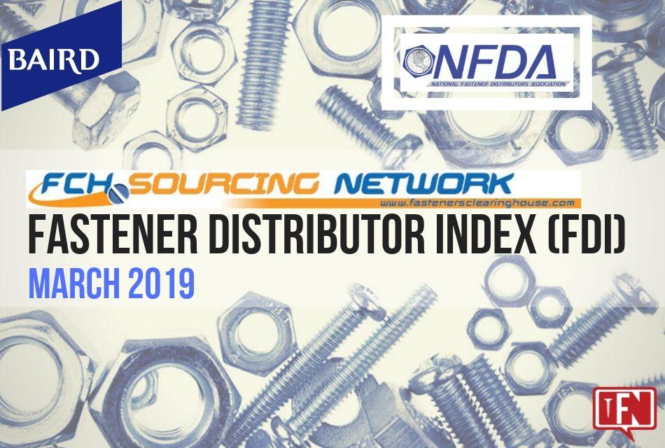 FASTENER DISTRIBUTOR INDEX – MARCH 2019