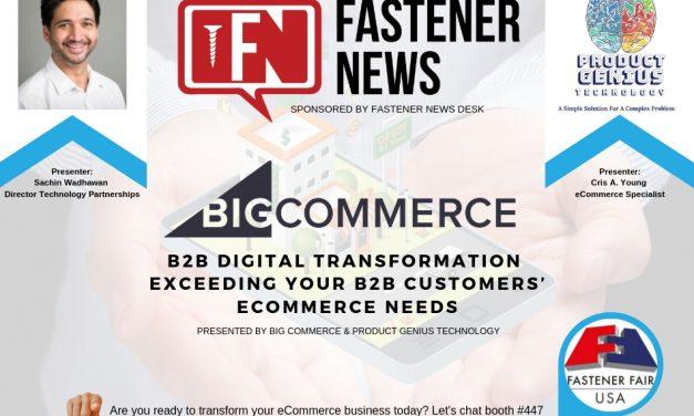 Fastener News Desk Sponsors Digital Transformation Session at Fastener Fair Detroit