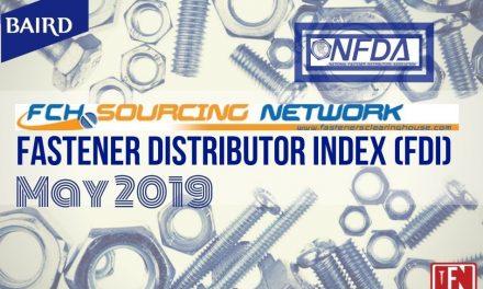Fastener Distributor Index – May 2019