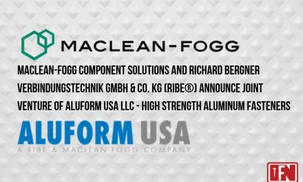 MacLean-Fogg Component Solutions and Richard Bergner Verbindungstechnik GmbH & Co. KG (RIBE®) Announce Joint Venture of Aluform USA LLC High Strength Aluminum Fasteners
