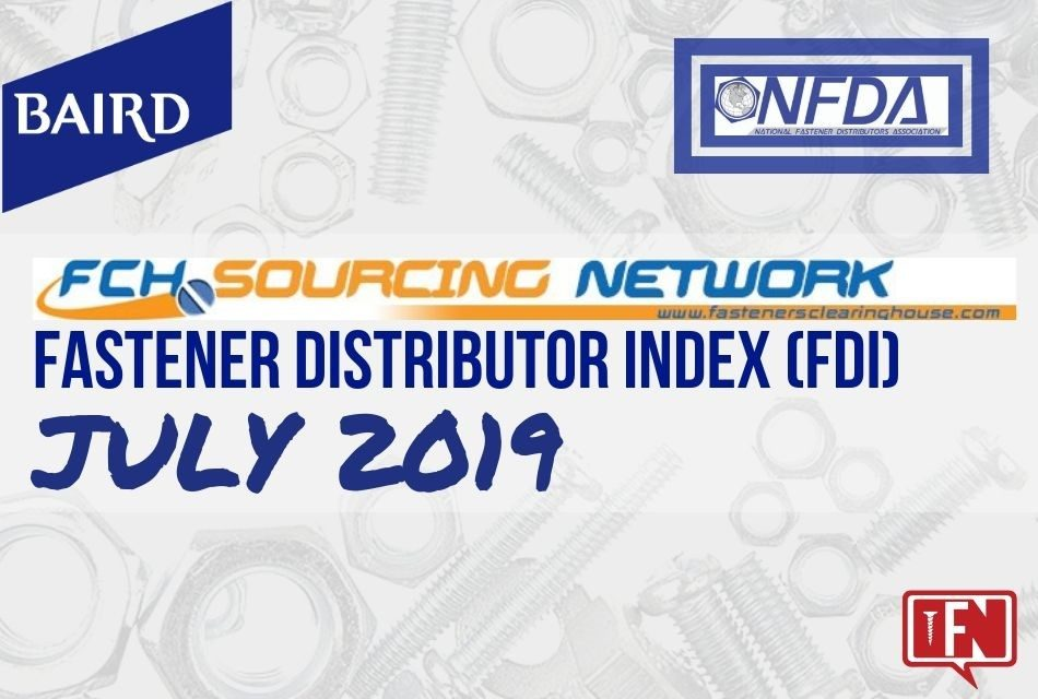 Fastener Distributor Index – July 2019