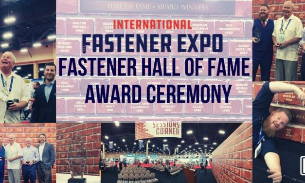 Fastener Hall of Fame Award Ceremony
