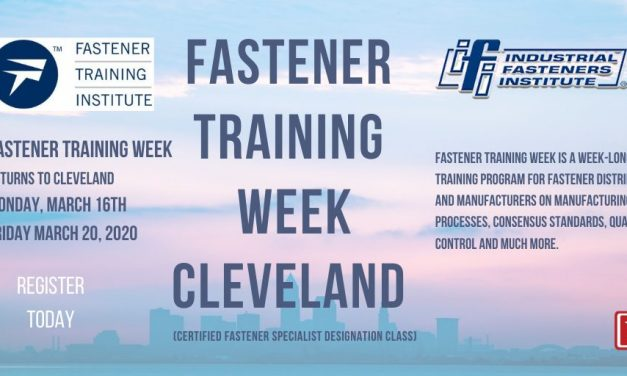 Fastener Training Week Returns To Cleveland