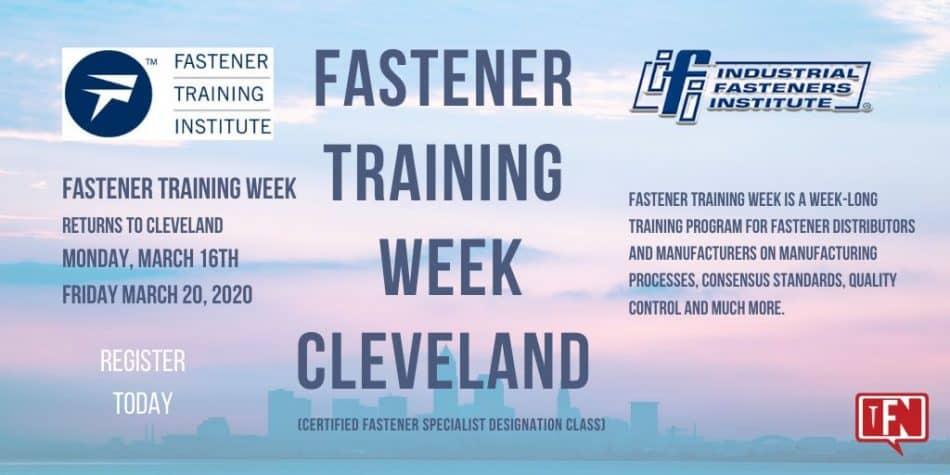 Fastener Training Week Returns To Cleveland