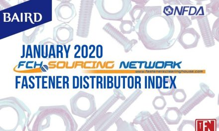 Fastener Distributor Index – January 2020