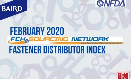 Fastener Distributor Index (FDI) Survey | February 2020