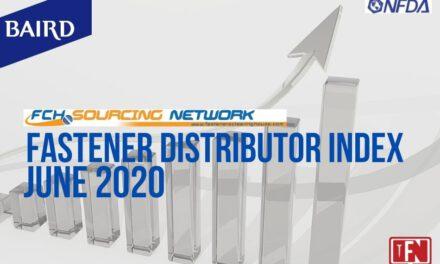 FASTENER DISTRIBUTOR INDEX (FDI) SURVEY | JUNE 2020