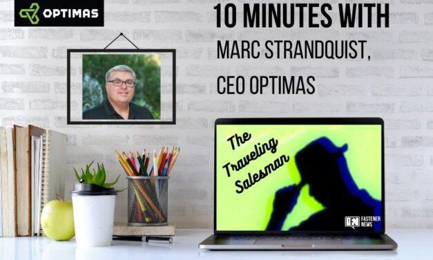 10 Minutes with Marc Strandquist, CEOOptimas