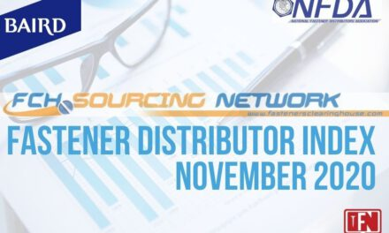 FASTENER DISTRIBUTOR INDEX (FDI) SURVEY NOVEMBER 2020