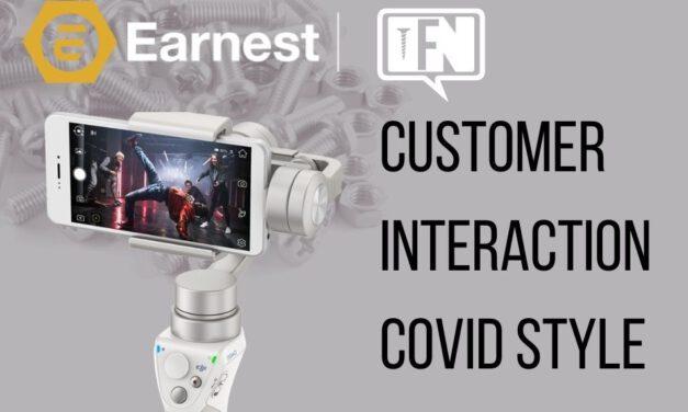 Customer Interaction Covid Style