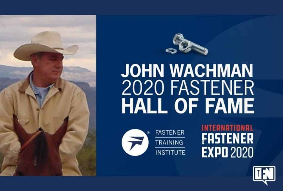 Fastening Training Institute Managing Director Inducted into Fastener Hall of Fame