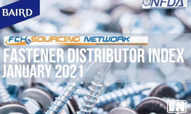 Fastener Distributor Index (FDI) | January 2021