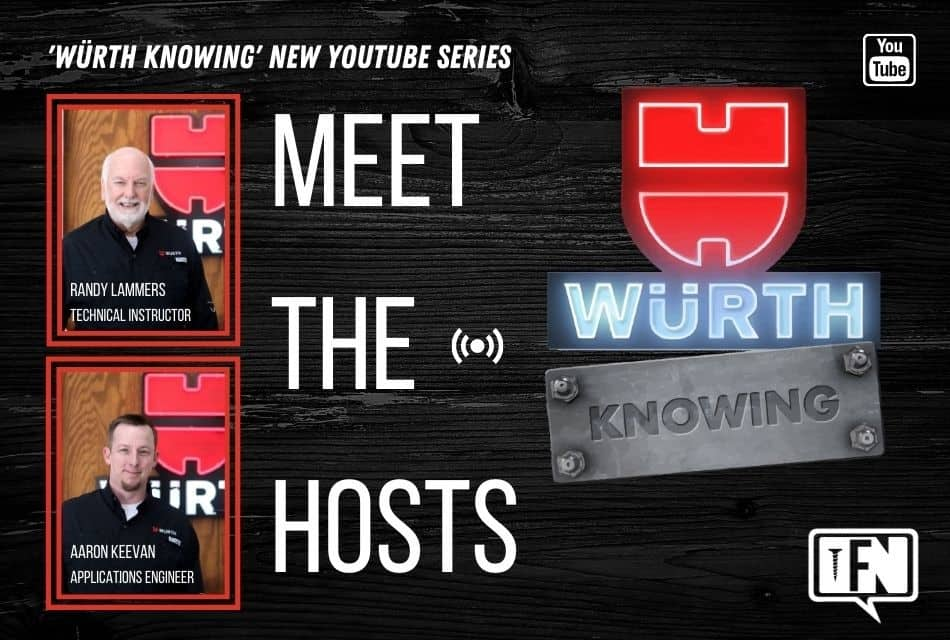 'Würth Knowing' NEW YouTube Series, Meet the Hosts!