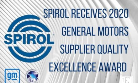 SPIROL Receives 2020 General Motors Supplier Quality Excellence Award