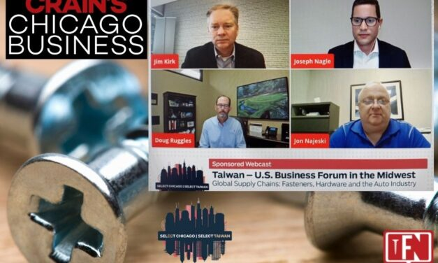 Taiwan – U.S. Business Forum in the Midwest: Global Supply Chains: Fasteners, Hardware and the Auto Industry