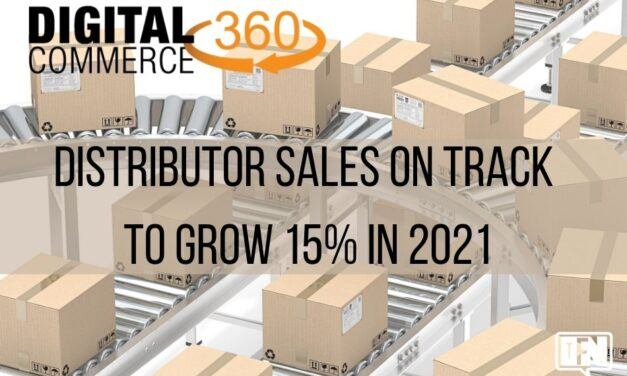 Distributor Sales on Track to Grow 15% in 2021