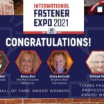 International Fastener Expo Announces 2021 Hall of Fame and Young Fastener Professional of the Year Awardees