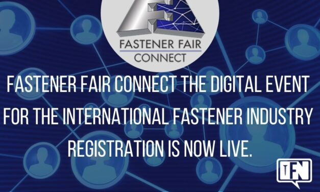 Fastener Fair CONNECT the digital event for the international fastener industry – Registration is now live.